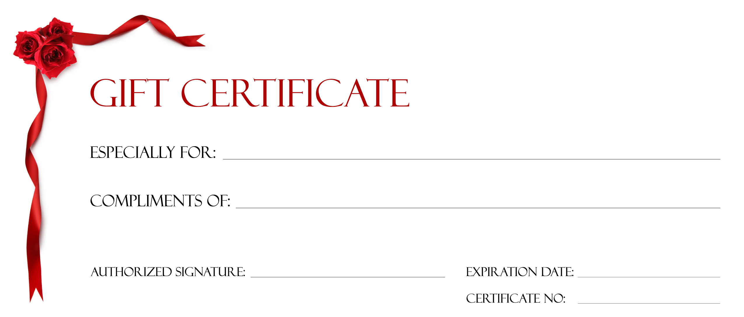 an online template to create a gift certificate how to create a free